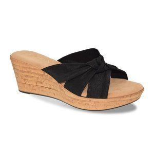 Italian Shoemakers Panache Women's Black Wedge